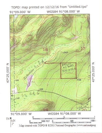 SOLD* Lake Superior View 40 Acres $80,000 00 – Lake Superior Realty